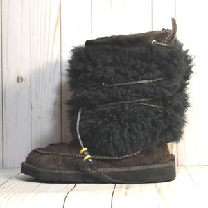 UGG Ranier  Mongolian Fur 5189 Winter Snow Boots